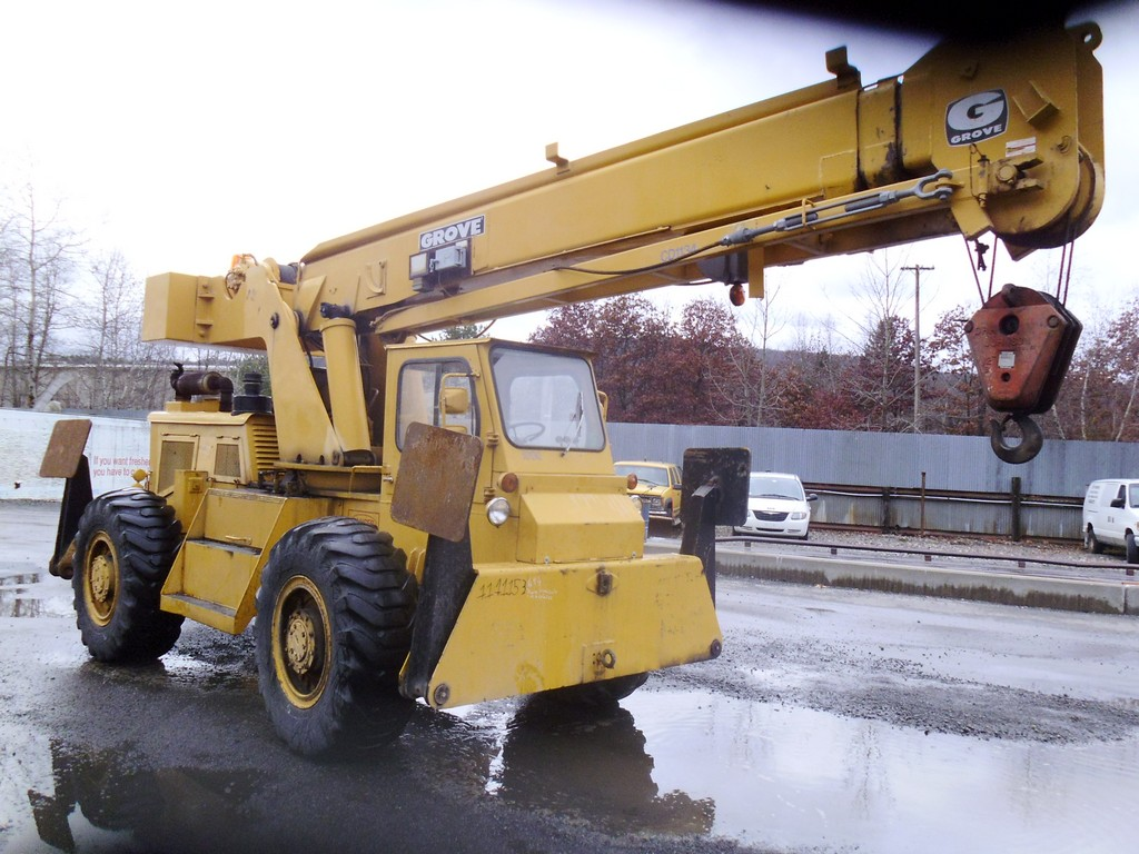 Steel Wheels For Sale >> 1972 Grove RT58 Crane Truck Single Axle for sale by Arthur Trovei & Sons - used equipment dealer