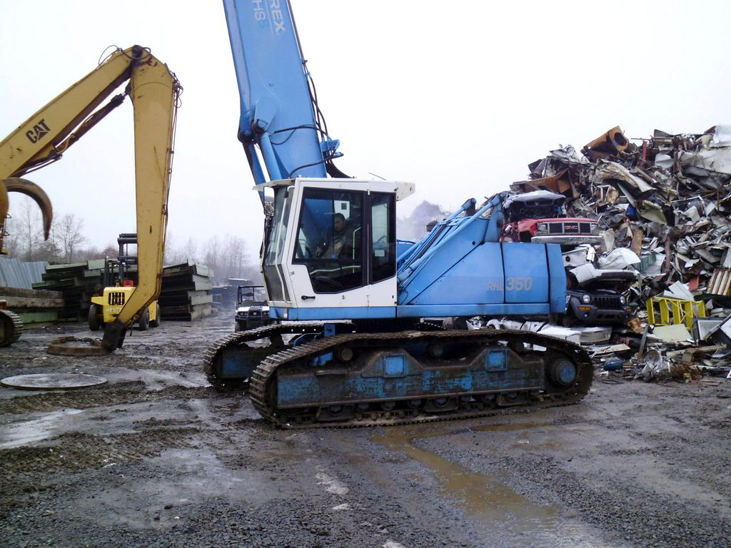 2005 Terex Fuchs RHL350 Excavator for sale by Arthur Trovei & Sons