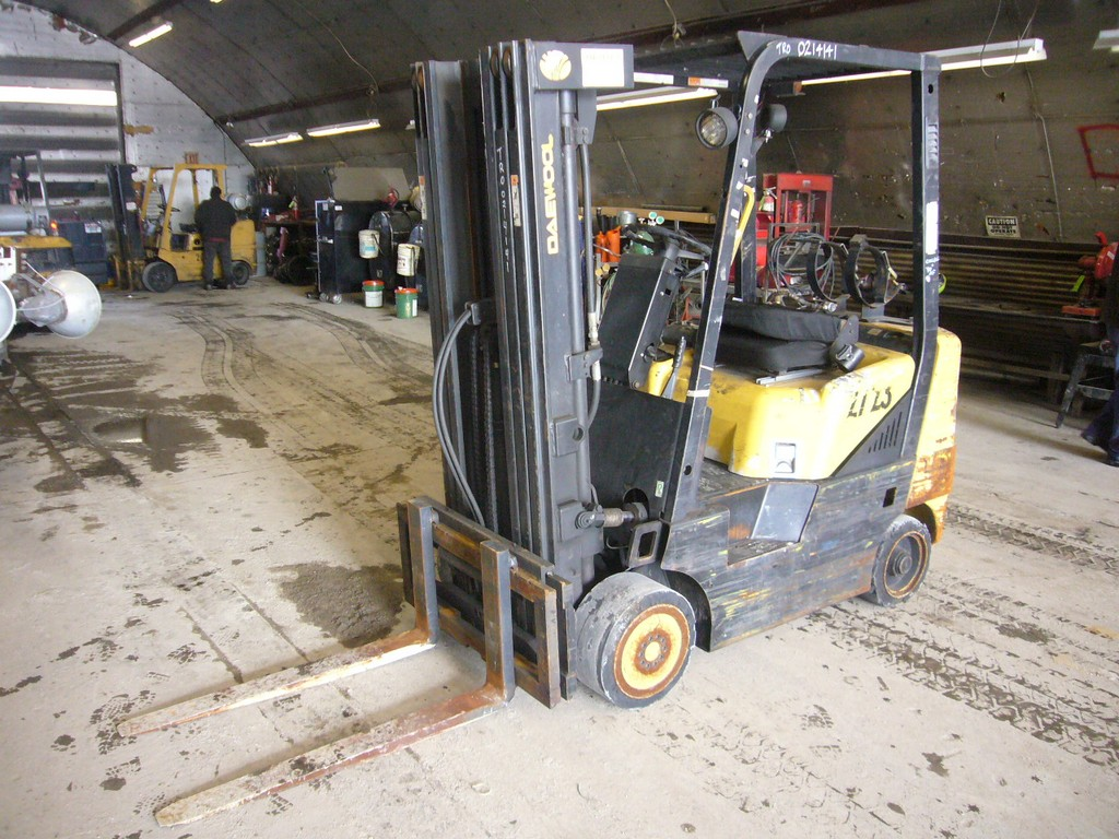 2002 Daewoo GC25E Forklift for sale by Arthur Trovei & Sons - used
