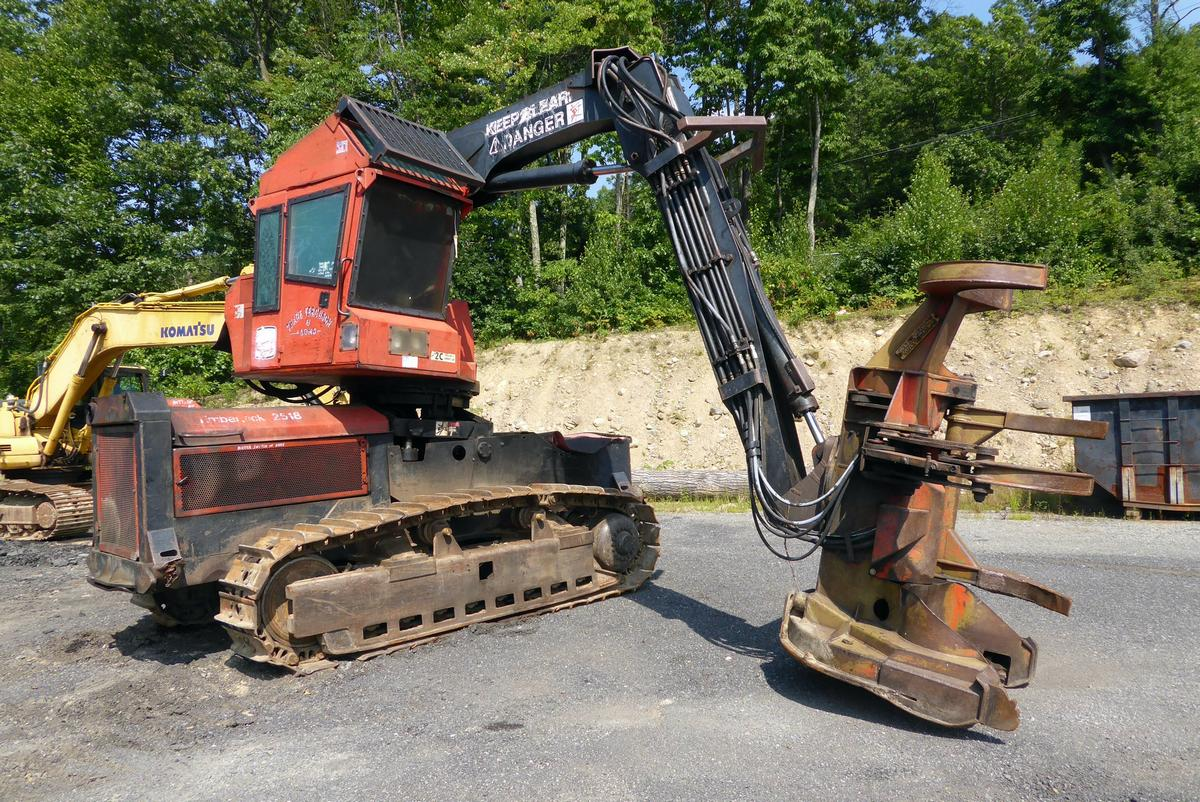 1992 Timberjack T25FHAIX 2518 Feller Buncher for sale by Arthur