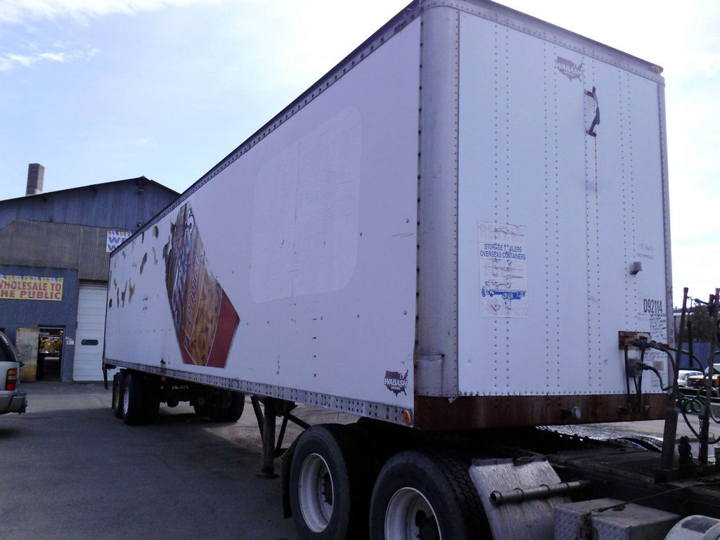 1992 Wabash 48 Tandem Axle Dry Box Trailer For Sale By