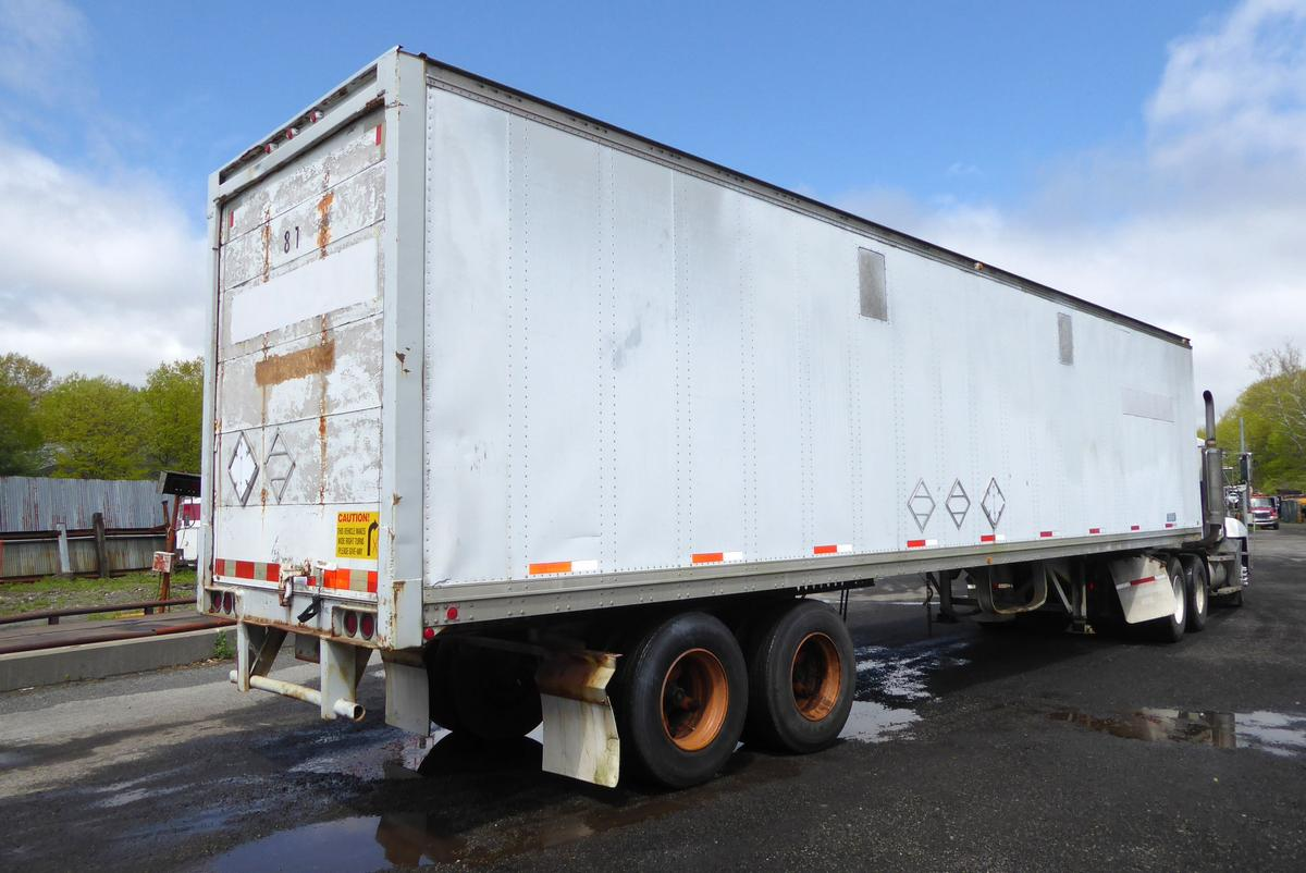 1986 Thayco C32a400s102 40 Tandem Axle Dry Box Trailer For Sale By Arthur Trovei