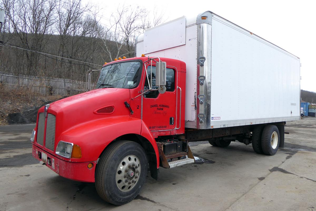 2003 Kenworth T300 Single Axle Box Truck for sale by Arthur Trovei