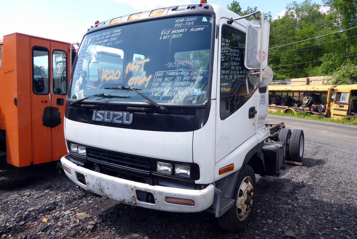 2000 Isuzu FRR Single Axle Cab and Chassis for sale by