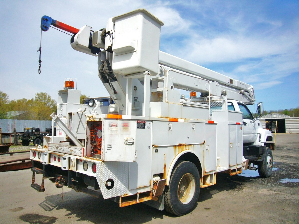 Gmc Truck For Sale >> 1997 GMC C8500 AWD Single Axle Bucket Truck for sale by ...