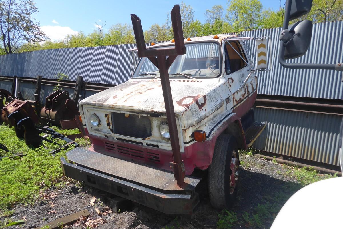 1985 Gmc 7000 Single Axle Auger Truck For Sale By Arthur Trovei  U0026 Sons