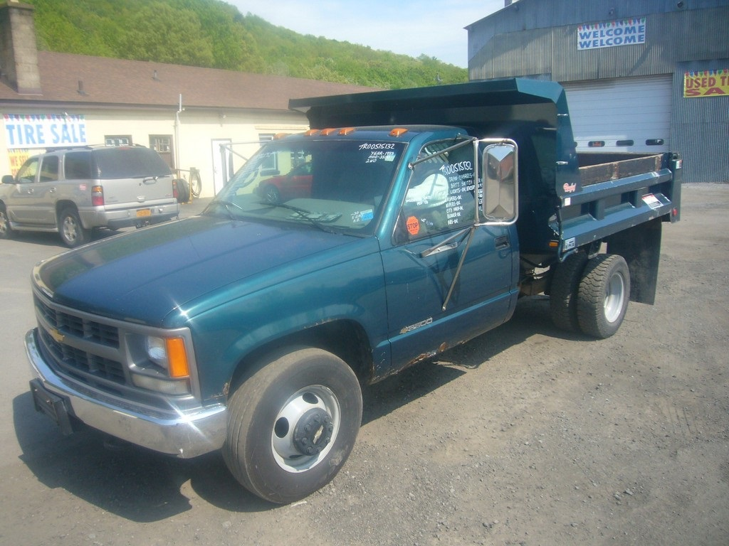 Pickup 1995 chevy pickup : 1995 Chevy 3500 Single Axle Mason Dump Truck for sale by Arthur ...